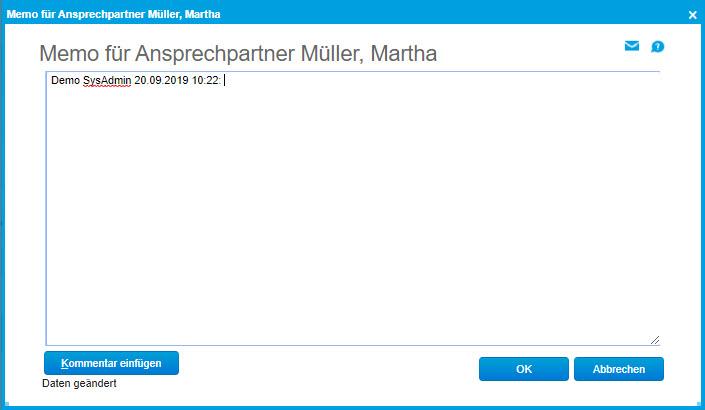 Register Ansprechpartner 2