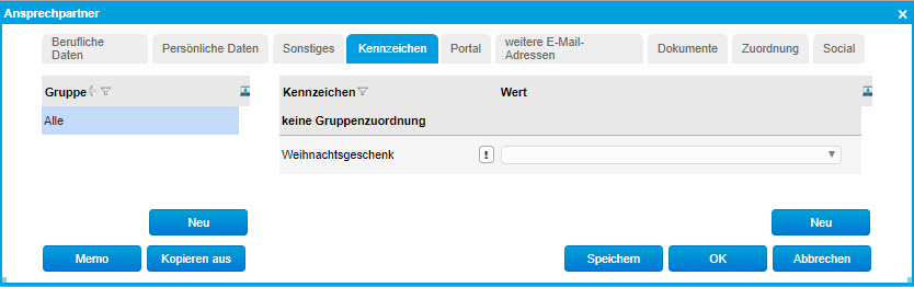 Register Ansprechpartner 6