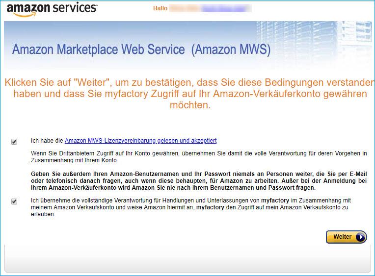 Amazon Registrierung 5