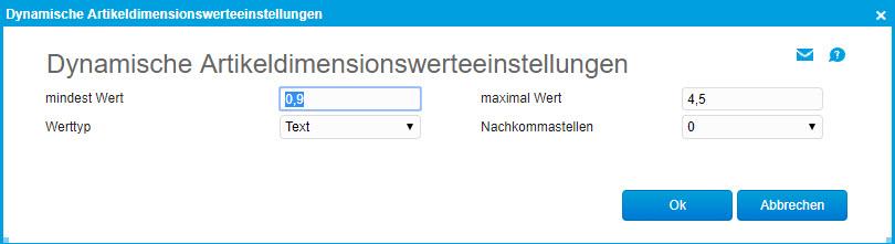 Register Dimensionen 1