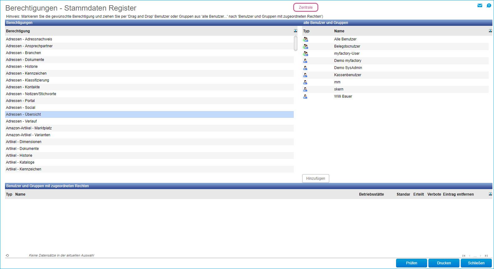 Stammdaten-Register 0