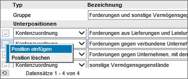 Bilanz/GuV/BWA-Definition 11