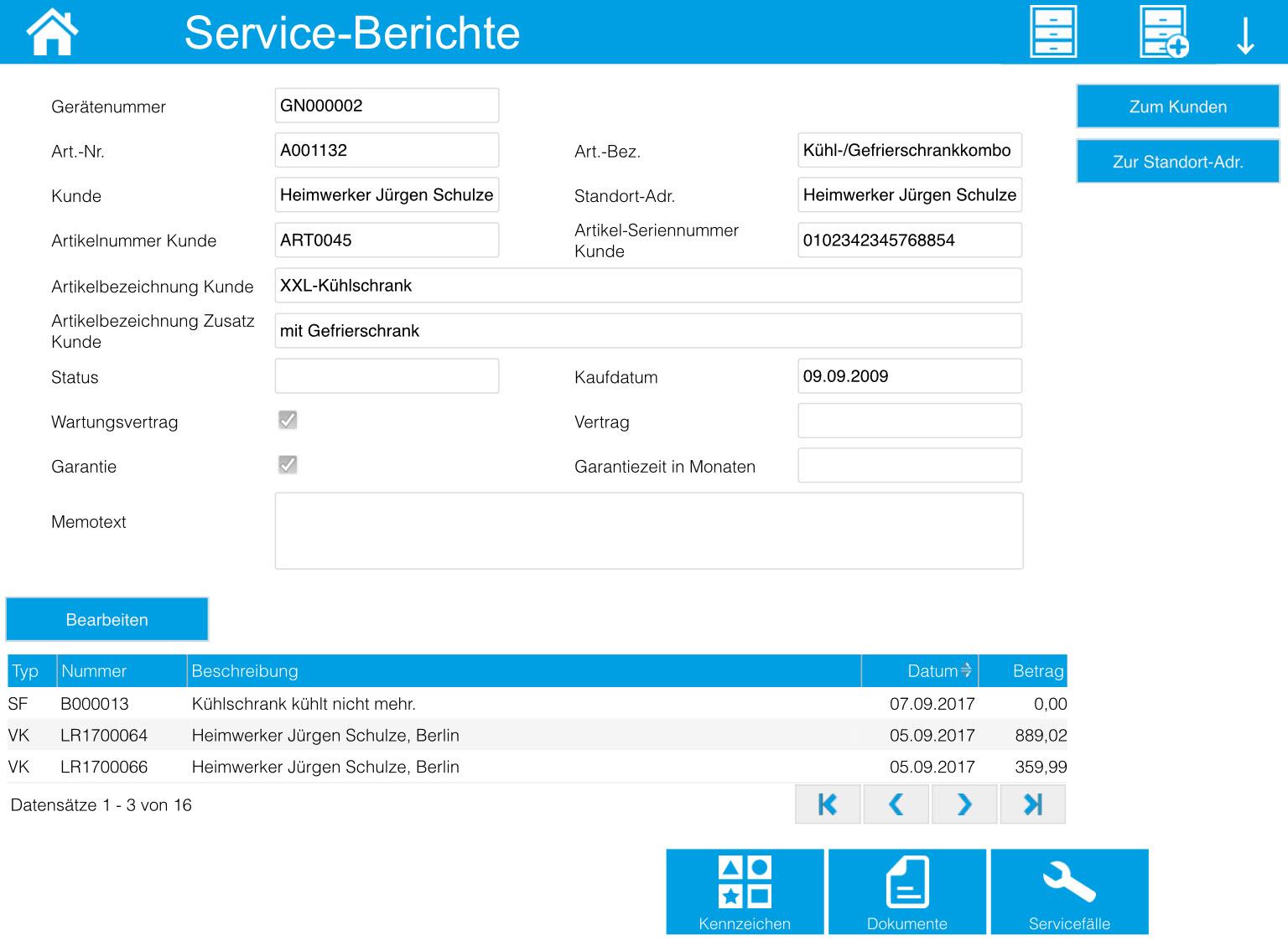 Service-Berichte 6