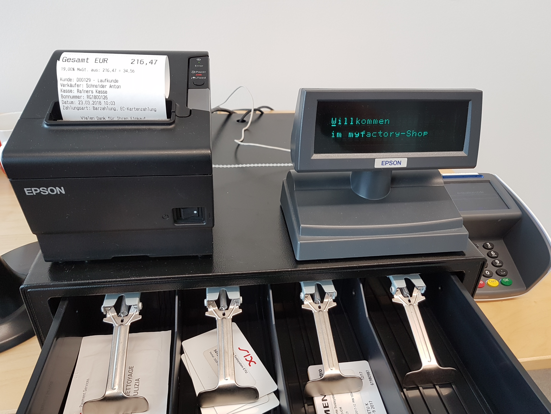 myfactory.POS: Kassenhardware installieren 17