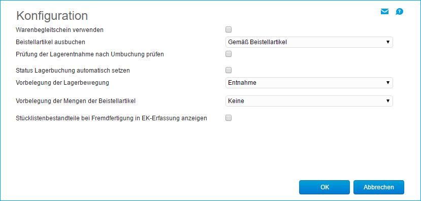 Konfiguration Verlängerte Werkbank 0