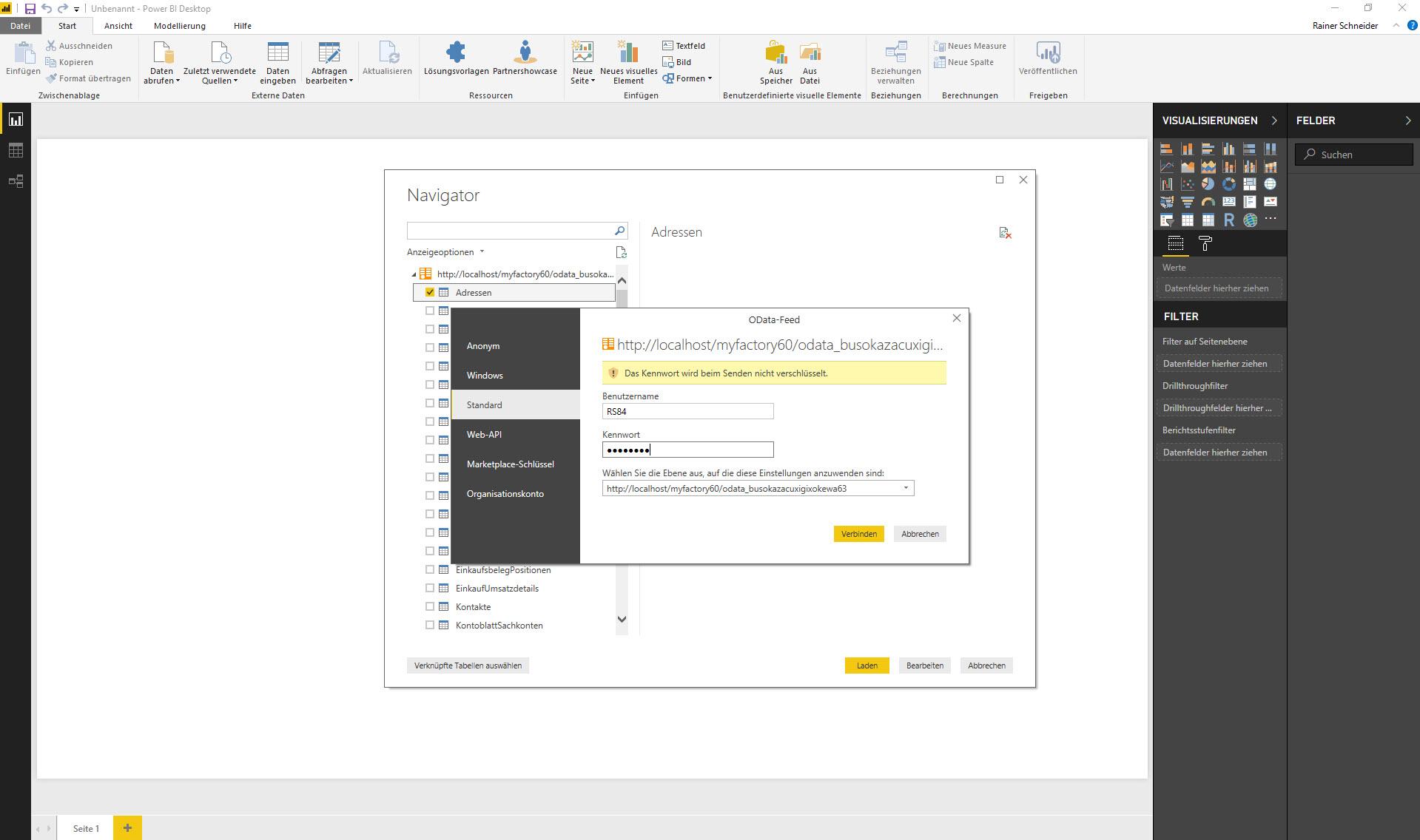 myfactory als Datenquelle: Die REST API für die Microsoft PowerBI-Auswertung nutzen 5