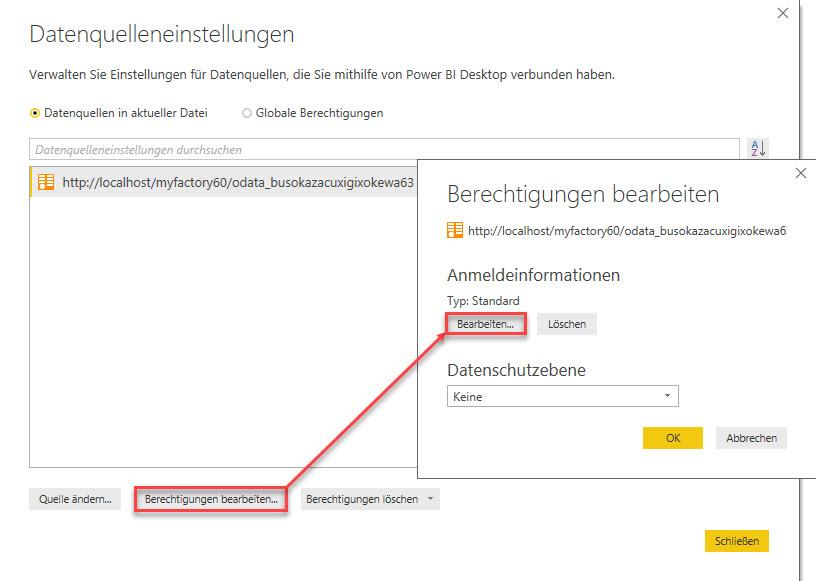 myfactory als Datenquelle: Die REST API für die Microsoft PowerBI-Auswertung nutzen 10