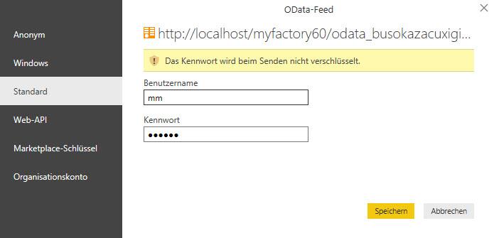 myfactory als Datenquelle: Die REST API für die Microsoft PowerBI-Auswertung nutzen 11