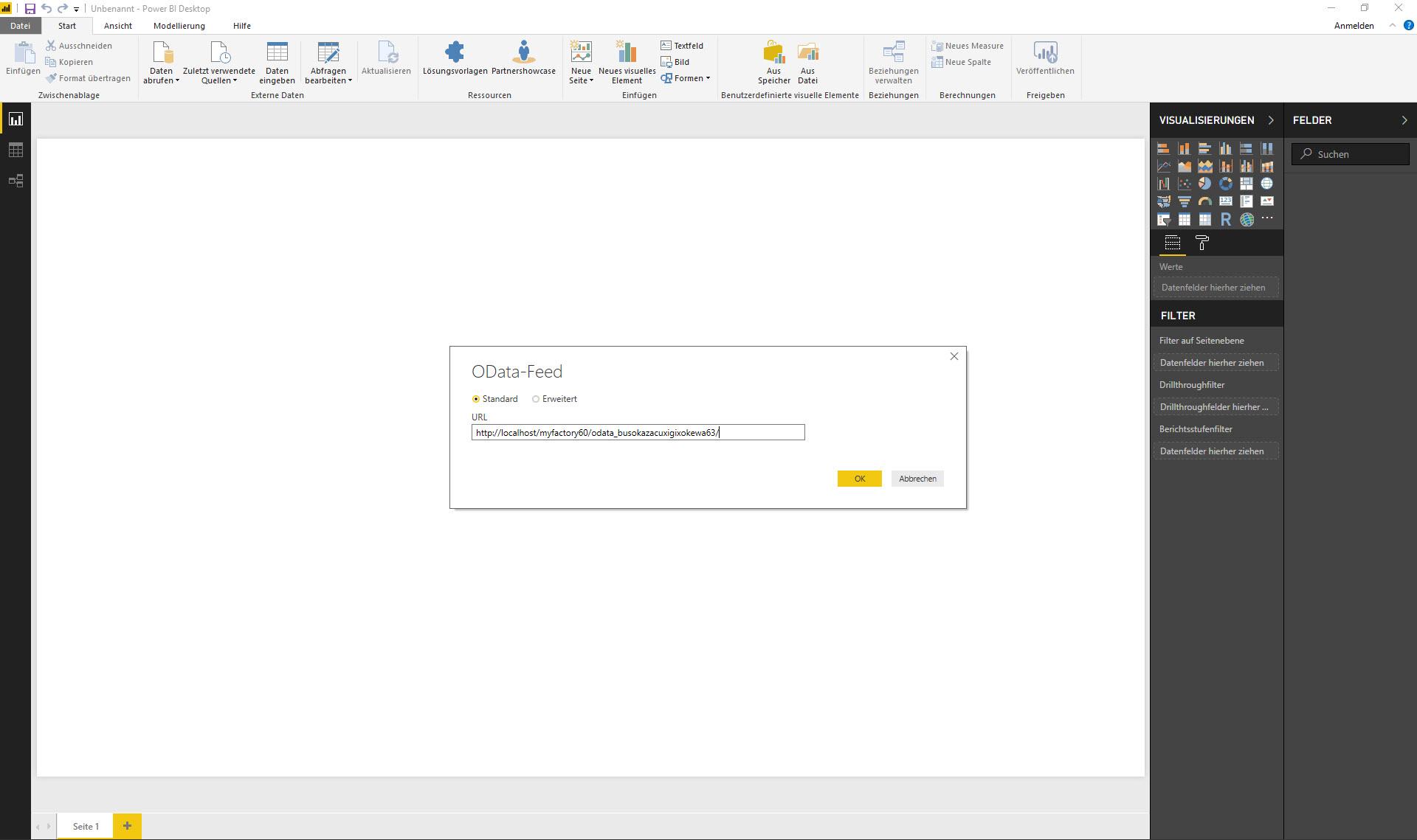 myfactory als Datenquelle: Die REST API für die Microsoft PowerBI-Auswertung nutzen 4