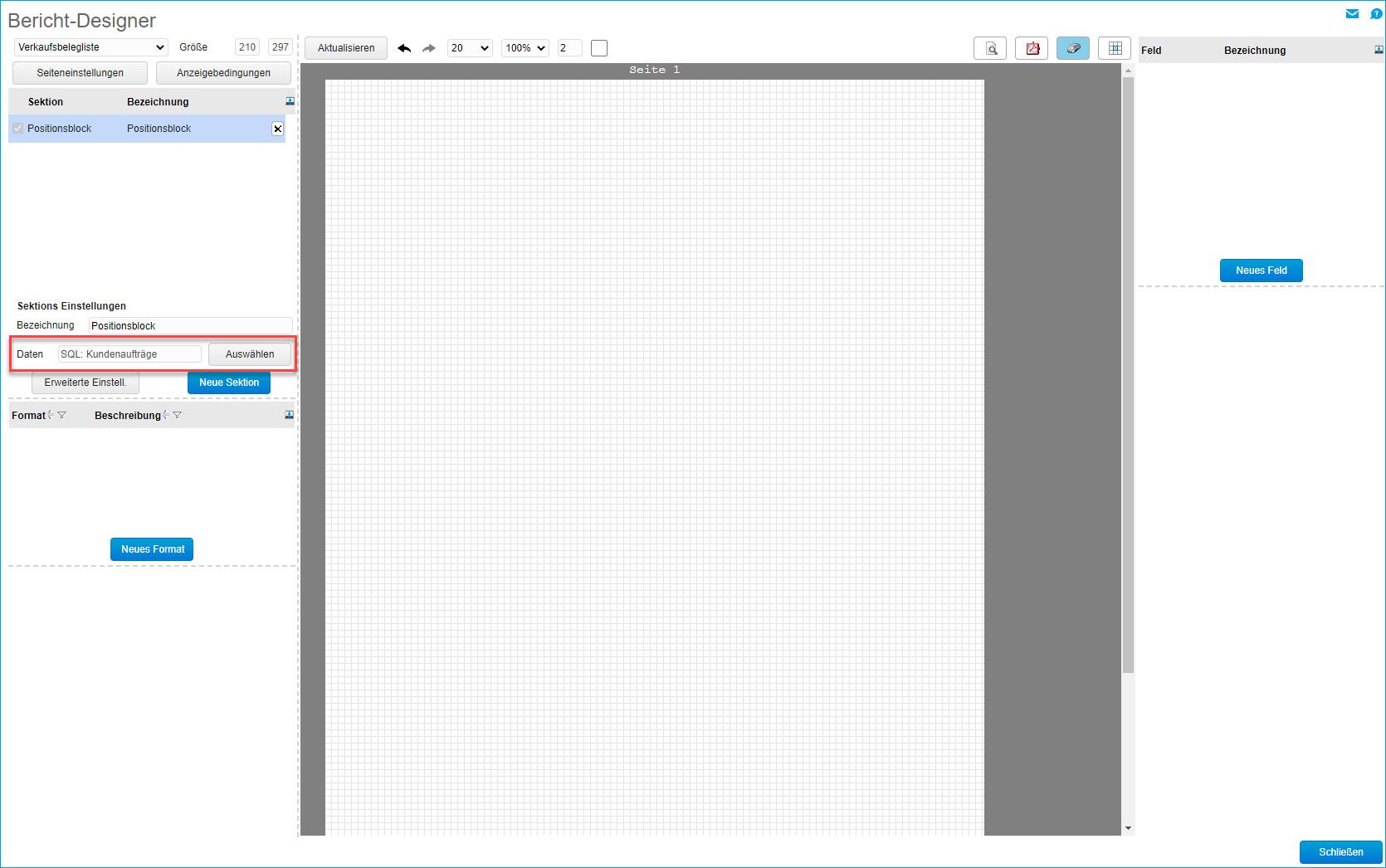 Eigene SQL-Datenquelle erstellen 8