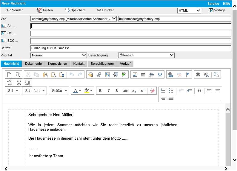 Serien-E-Mails 2