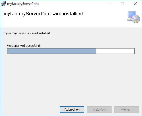 Serverdruck-Dienst 0