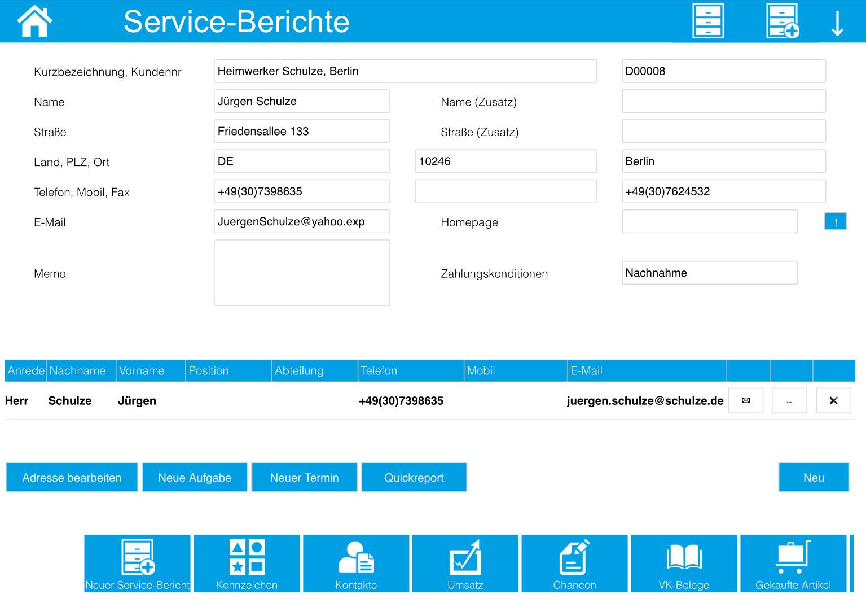 Service-Berichte 9