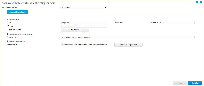 Shipcloud-API 0