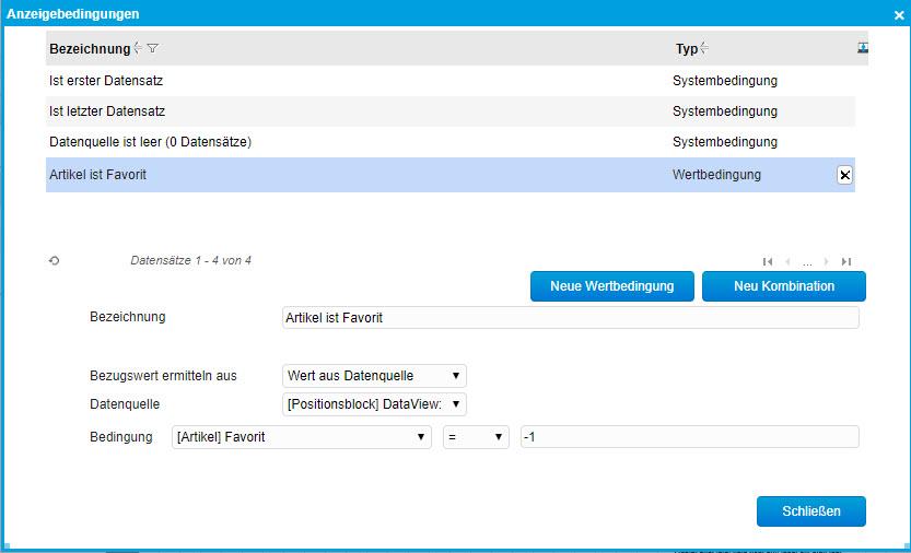 Grundsätzlicher Aufbau der Smart Reports und des Bericht-Designers 2