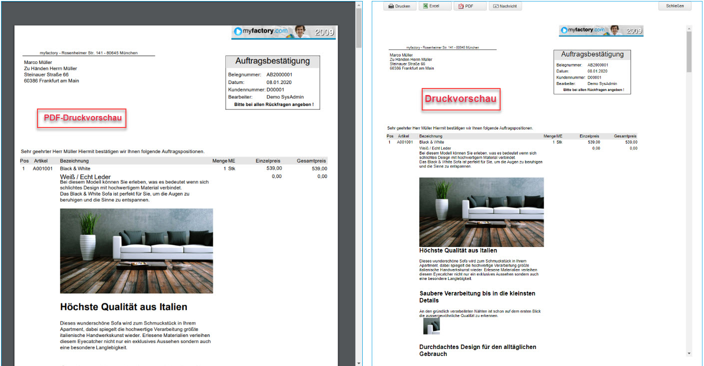 Grundsätzlicher Aufbau der Smart Reports und des Bericht-Designers 38