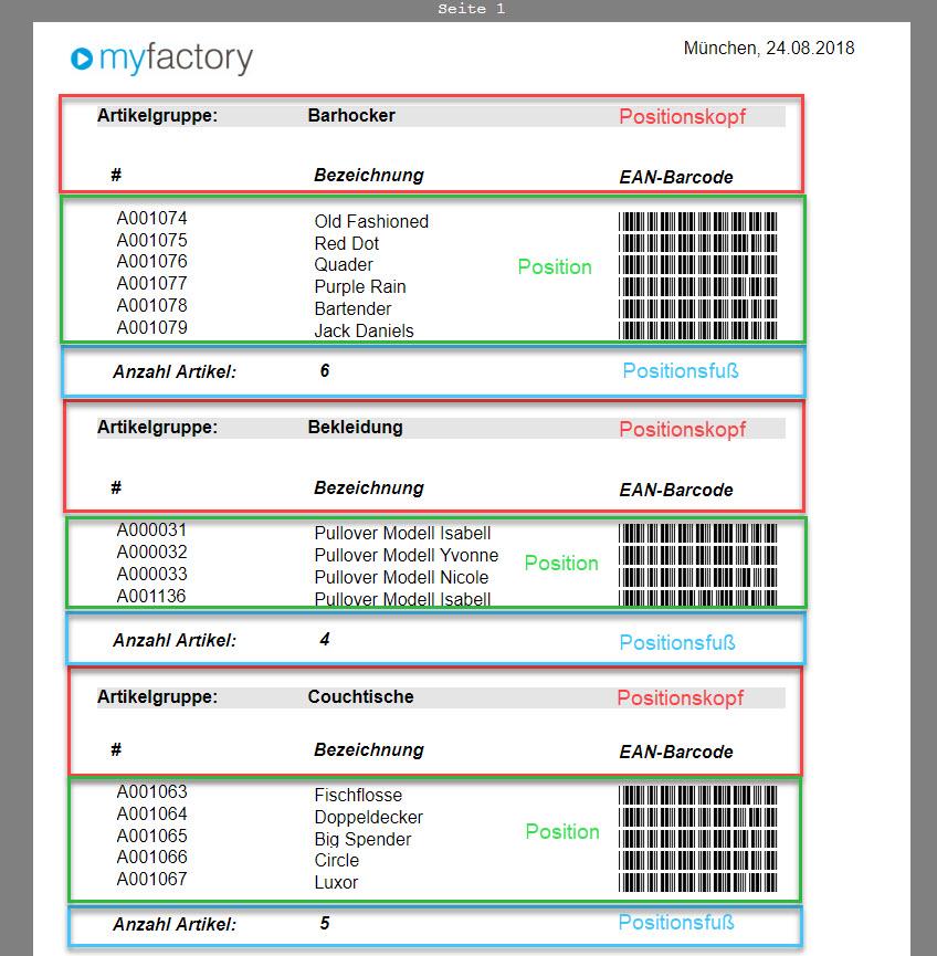 Grundsätzlicher Aufbau der Smart Reports und des Bericht-Designers 15