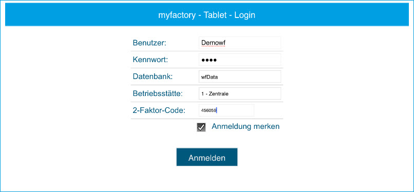 Sicherheit: So nutzen Sie die Zwei-Faktor-Authentifizierung in der myfactory 3