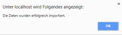 ZUGFeRD Rechnung importieren 1