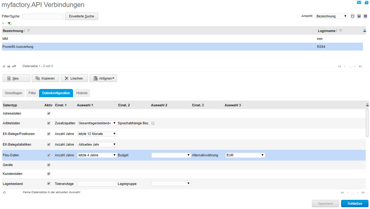 myfactory als Datenquelle: Die REST API für die Microsoft PowerBI-Auswertung nutzen 1